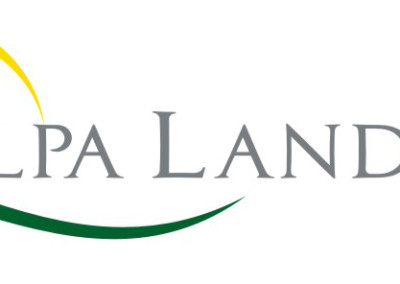 Alpha Land Inc Logo Design