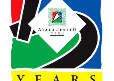 Ayala 5 years Logo Design