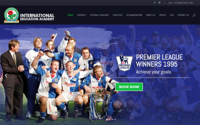 WordPress Theme Design for BRFC Education Academy