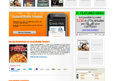 Mobile themes