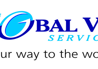 Global Visa Services Logo Design